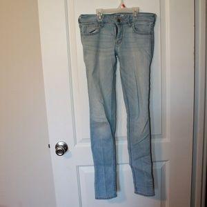 Light Wash Skinny Jeans